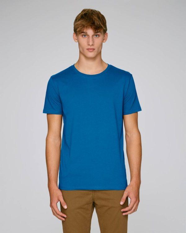 camiseta azul personalizable