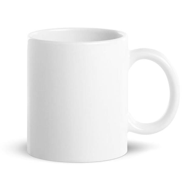 taza personalizable blanca