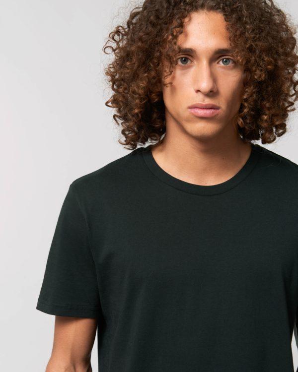 camiseta negra unisex