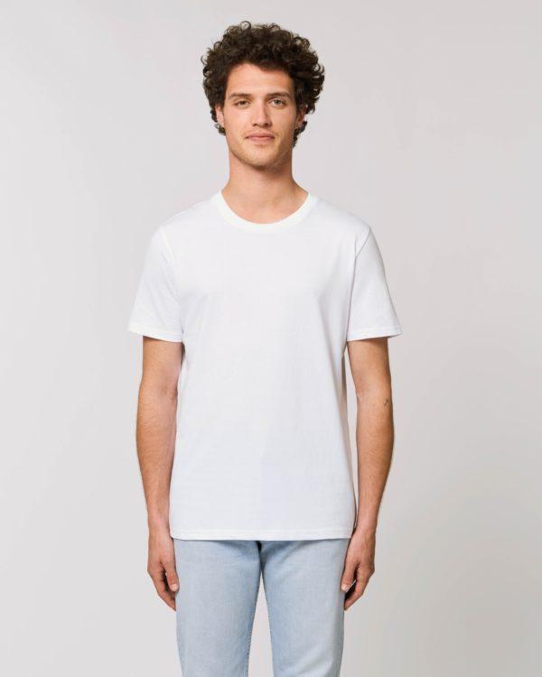camiseta blanca unisex