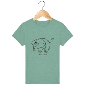 Camiseta infantil Elefeonte