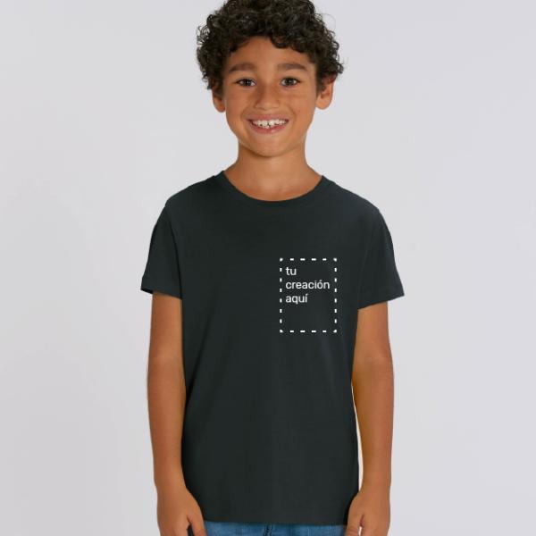 camiseta para niños personalizable