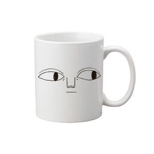 La taza con ojazos