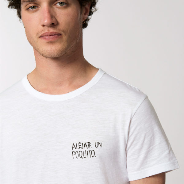 camiseta con mensaje divertido