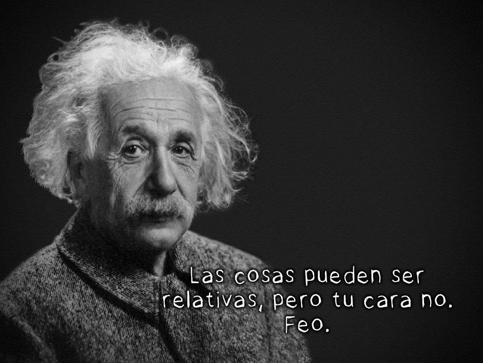 Einstein ya no quiere ser guapo