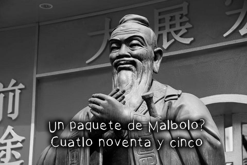 Confucio en el bazar te explicar cómo ser guapo