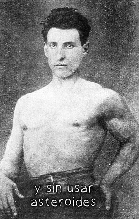 Ramón y Cajal no puede ser guapo por su cara y se apunta al gym
