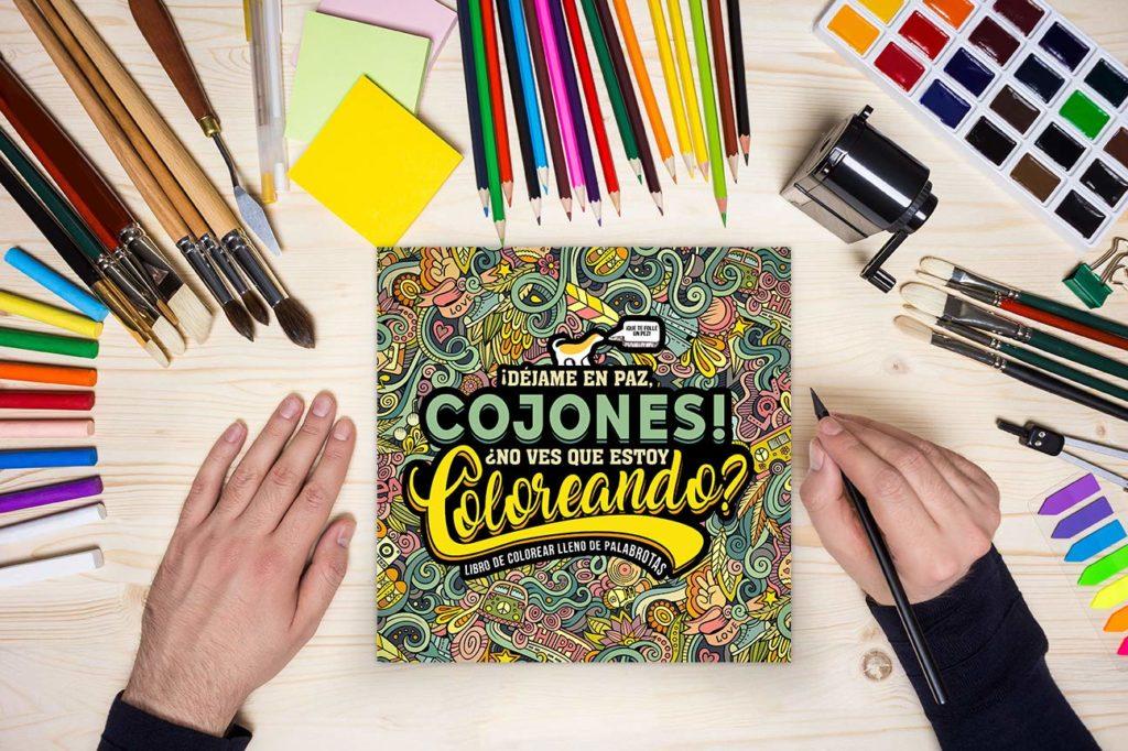 regalos originales para amigas_libro para colorear palabrotas